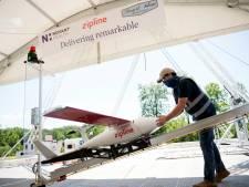 Des drones fournissent des équipements de protection contre le Covid-19 aux hôpitaux