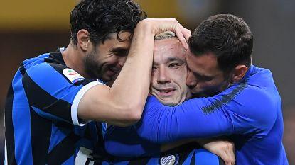 Nainggolan trapt Inter naar Champions League