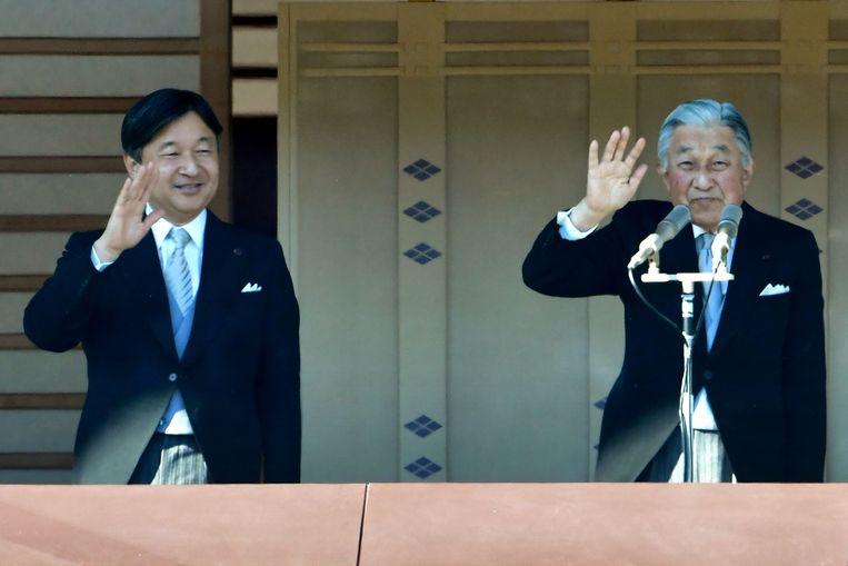 Keizer Akihito (85) treedt morgen af als Japans kezier. Hij wordt opgevolgd door zijn oudste zoon Naruhito (59).  Met de  troonbestijging start Japan een nieuwe jaartelling.