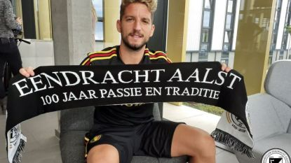 Dries Mertens in jubileumboek 100 jaar Eendracht Aalst