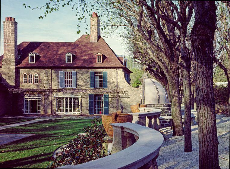 Ropsley House, het 'Hollandse' huis in Philadelphia waar de roman van Ann Panchett over gaat. Beeld Getty Images
