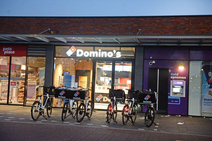 De vestiging van Domino's Pizza's aan de Wesseler Nering
