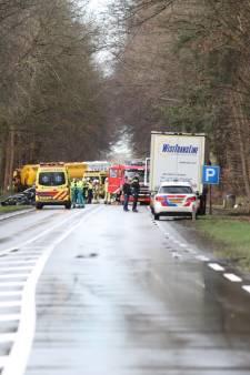 Automobilist (22) uit Raalte ernstig gewond bij ongeluk op N35