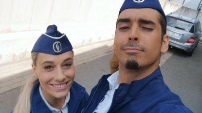 Van patser naar flik: Junes Lazaar krijgt een rol in 'De Buurtpolitie'