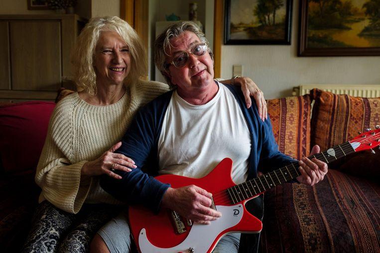 Eddy Maes met zijn vrouw Diana Lenaerts.
