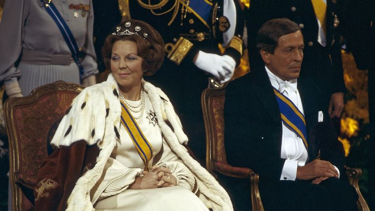 Beatrix en Claus in 1980. Beeld ANP