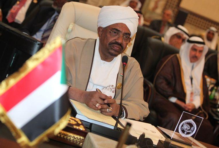 President Omar al-Bashir van Sudan Beeld afp