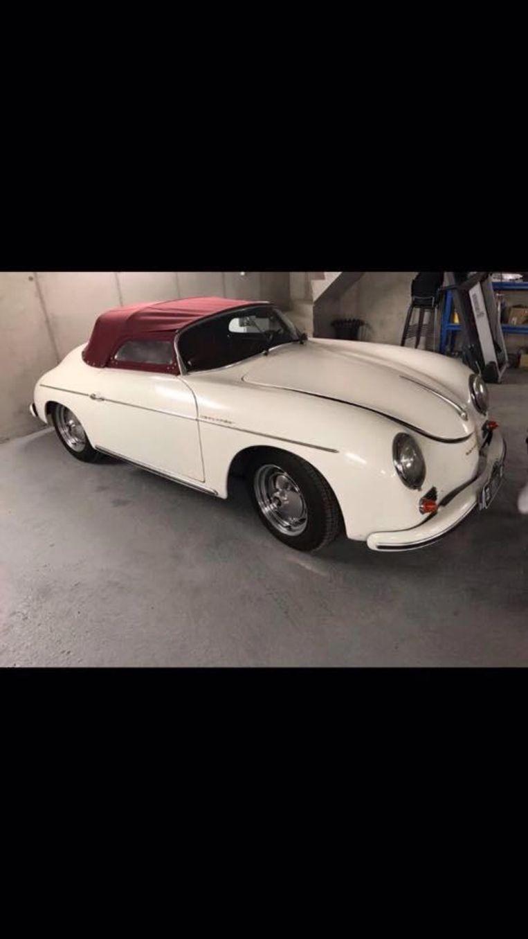 De gestolen oldtimer Porsche 356 speedster.