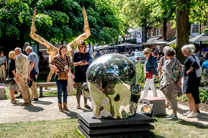 Oisterwijk in Art trok in 2017 veel publiek naar De Lind in Oisterwijk.