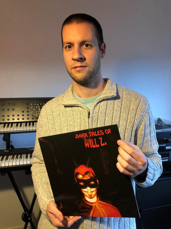 """La pochette de """"Dark Tales of Will Z."""" a été utilisée sur des t-shirts sans l'accord de Marcelin Willems."""