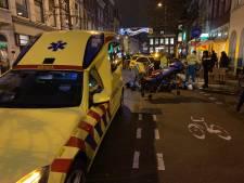 Twee mensen gewond na ongeval met maaltijdbezorger in binnenstad