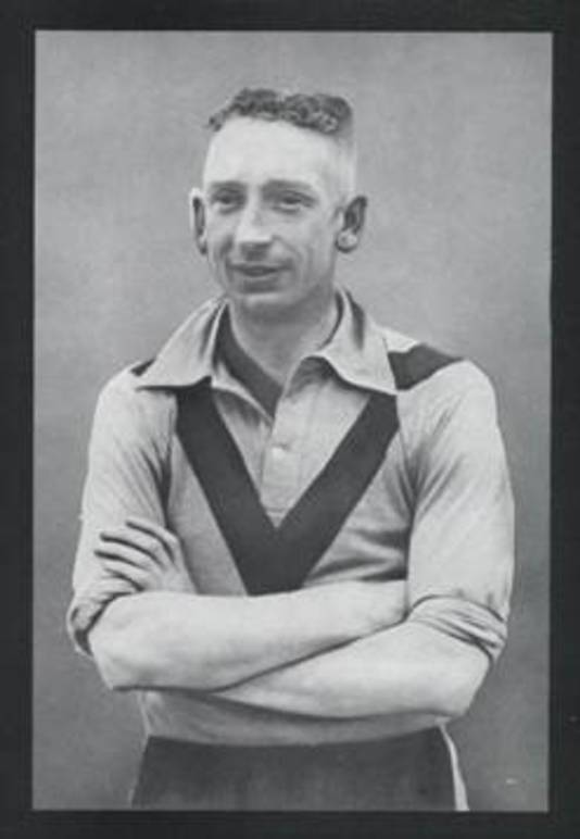 Piet Dumortier, die de winnende goal maakte tegen OSV.