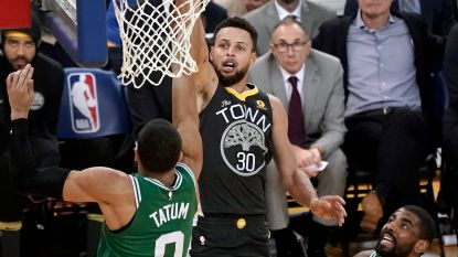 Golden State wint topper tegen Boston, Carmelo Anthony rondt kaap van 25.000 punten