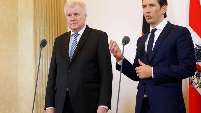 Oostenrijk, Duitsland en Italië willen Middellandse Zee-route sluiten voor vluchtelingen