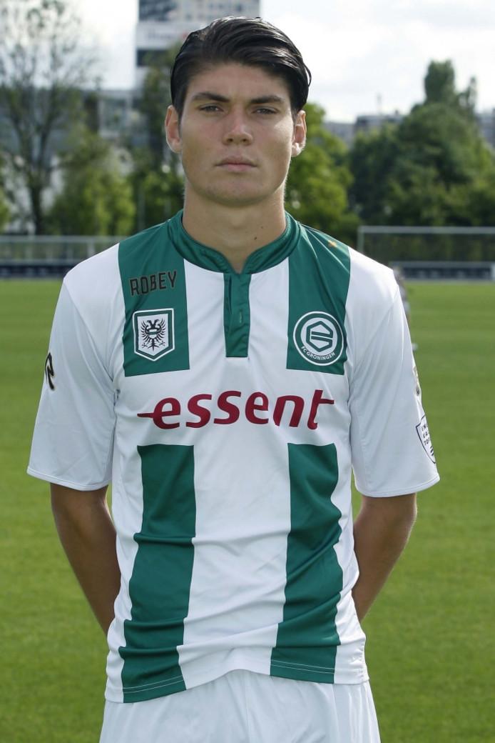 Tim Waterink bij Jong FC Groningen