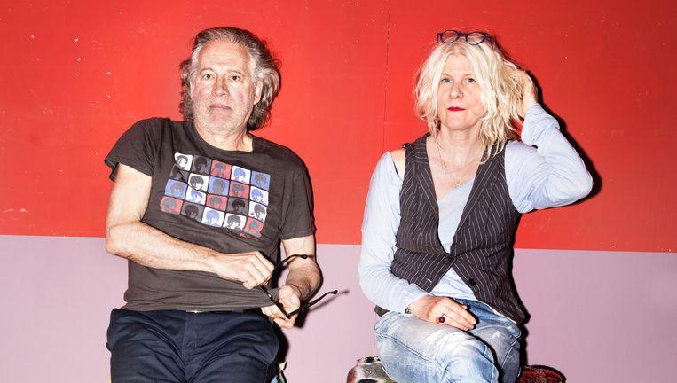 Herman Gilis en Alize Zandwijk. Beeld Els Zweerink