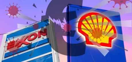 Staan grote oliereuzen op omvallen? Schone energie en corona delen dreun uit
