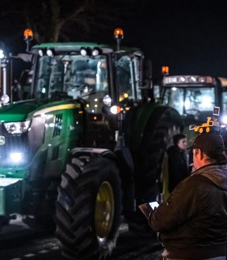 Politie zet pepperspray in om tractorbestuurder (19) uit Loenen van A50 bij Teuge te halen