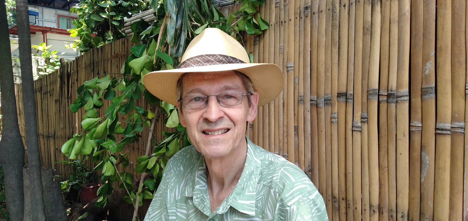 Achterhoeker Henk Ankoné blijft ondanks corona op de Filipijnen actief.