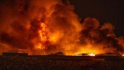 Inferno legt schrijnwerkerij en twee andere bedrijven volledig in de as in Opwijk