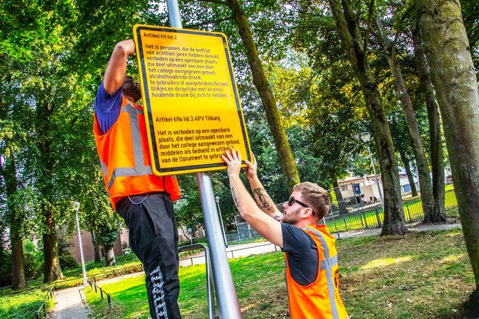 Sinds vrijdag is het Fokkerpark (en Korvelplein) aangewezen als gebied waar geen alcohol en drugs mag worden gebruikt. Het Fokkerpark is een plek waar vaak Oost-Europese daklozen rondhangen.