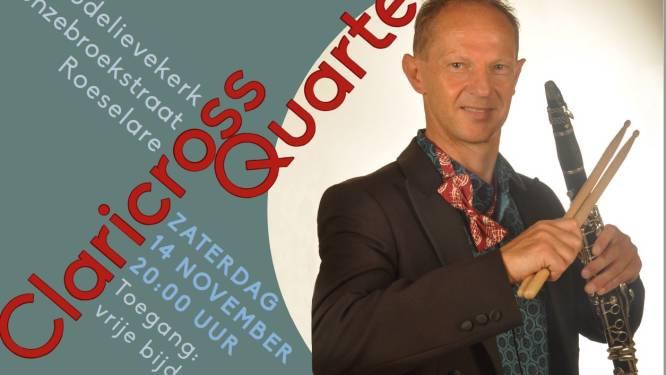 Henk Soenen brengt samen met Claricross Quartet composities van vader Willy