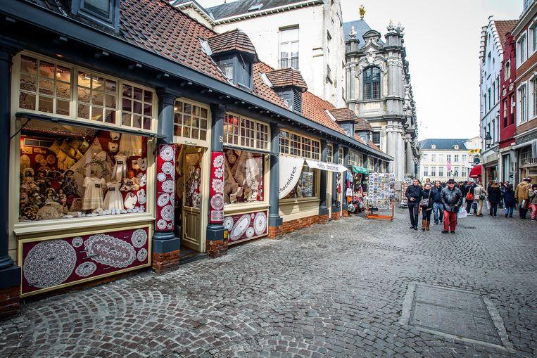 Brugge Breydelstraat wordt heraangelegd