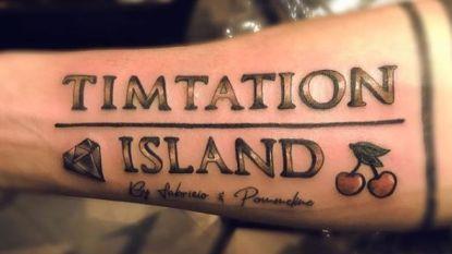 Hebben Fabrizio en Pommeline deze opmerkelijke tatoeage bij 'Timtation' gezet?