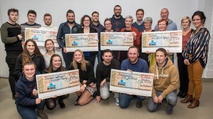 Zombietrail brengt 9.000 euro bijeen voor zes goede doelen