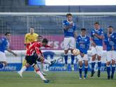 Jong PSV wordt penalty onthouden en verliest van FC Den Bosch