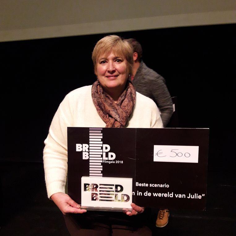 Fabienne De Groot kreeg een award voor het beste scenario.