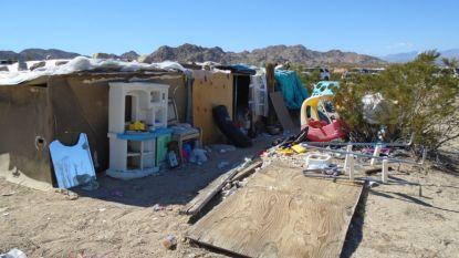 Amerikaans koppel opgepakt dat kinderen tussen uitwerpselen en afval laat leven