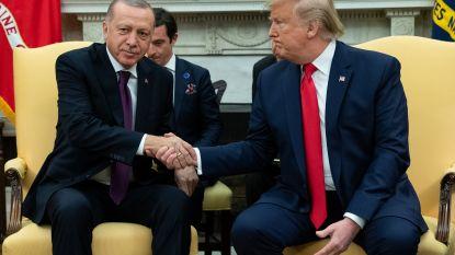 """Trump ontvangt Erdogan in het Witte Huis: """"Grote fan van hem"""""""
