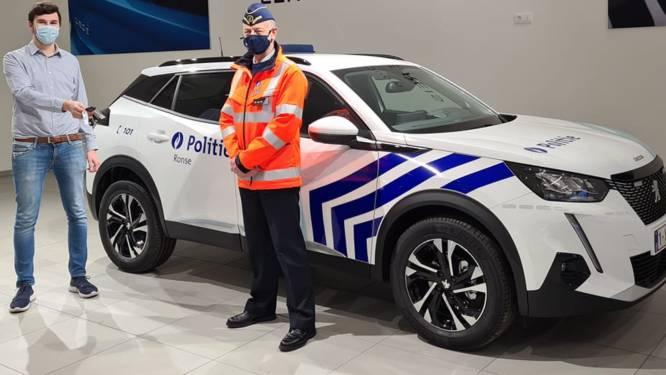 Politie Ronse patrouilleert met nieuwe terreinwagen