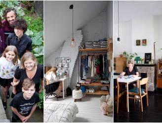 """Binnenkijken in het rijhuis dat een thuis werd voor nieuw samengesteld gezin met 4 pubers: """"Elk een eigen kamer én een gamekelder"""""""