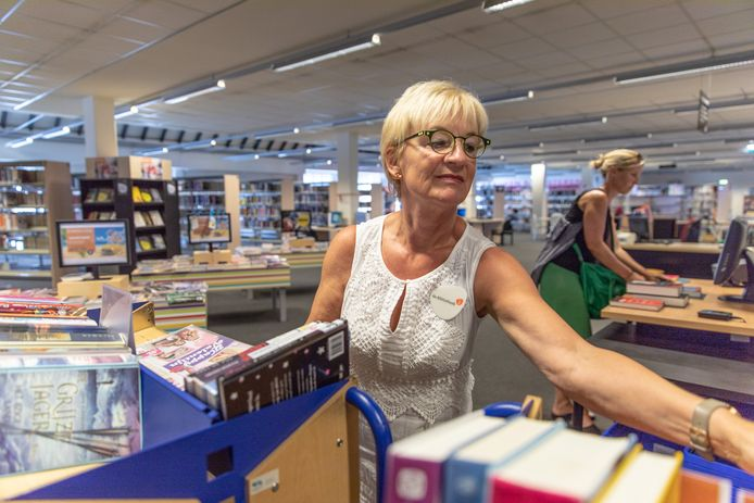 Archieffoto bibliotheek in Goes