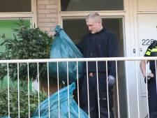 Zakken vol planten: wietkwekerij opgerold in Apeldoorns appartement