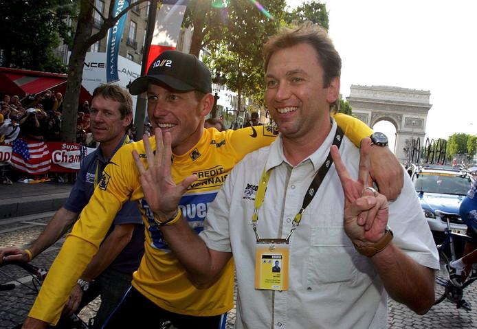 Ils ont gagné sept Tours de France ensemble, ils sont tombés ensemble et ils ont continué à se soutenir.