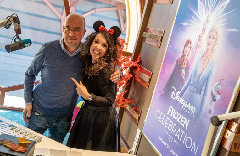 Sven en Anke in Disney.