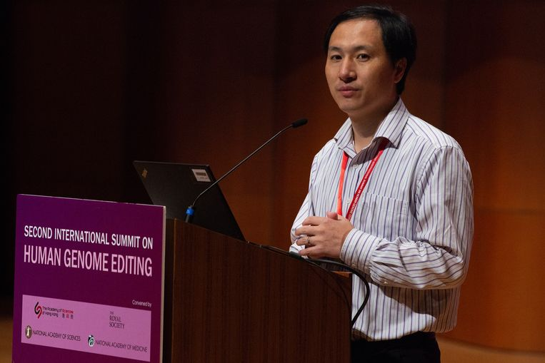 He Jiankui verstomde de wereld met zijn presentatie over de genetische manipulatie van baby's.