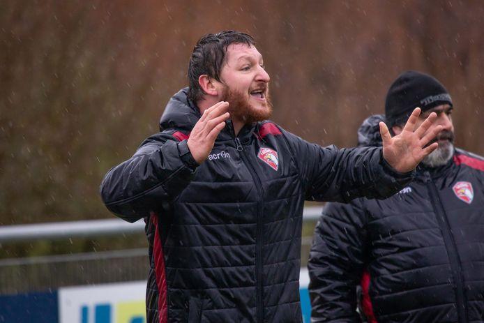 Brian Hendry (L) ; coach van rugbyclub Tovaal; Goes; 2019