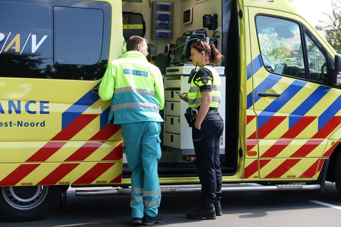 Fietsster aangereden door automobiliste op Mastbosstraat in Breda