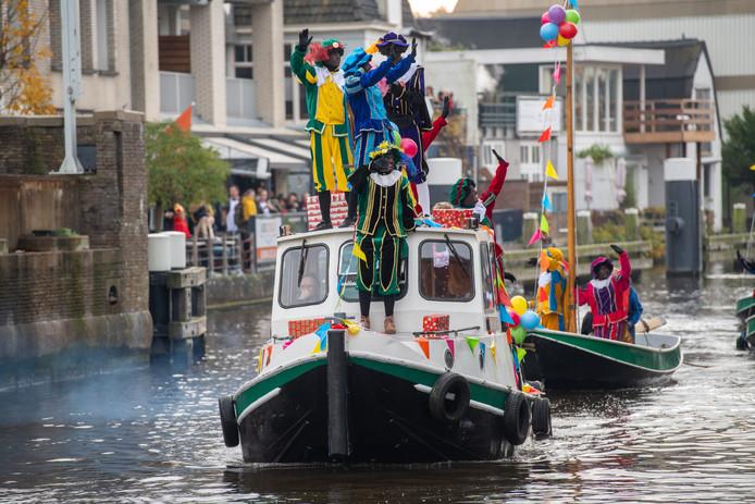 Intocht sinterklaas in Alphen aan den Rijn 2019