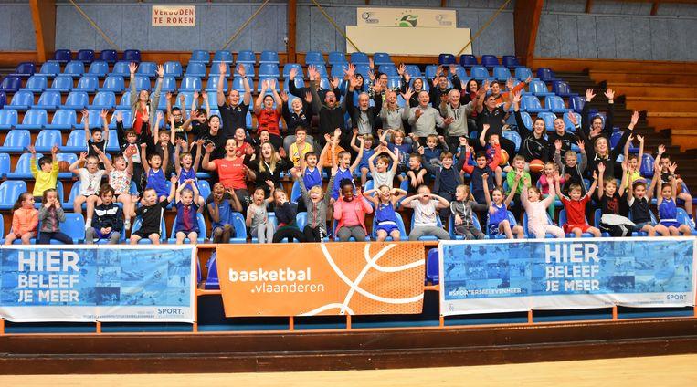 Woensdagmiddag werd in Oostende een basketinstuif georganiseerd ter promotie van het meisjesbasketbal samen met de Belgian Cats.