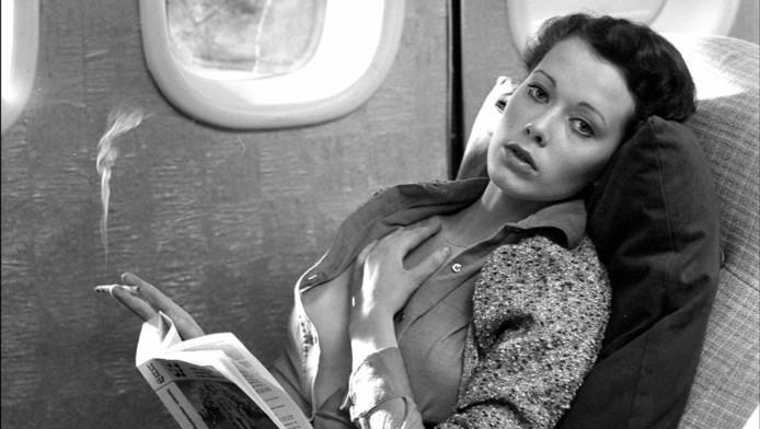 """Sylvia Kristel dans le film """"Emmanuelle"""""""