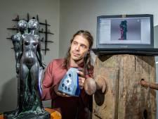 Als Oude Molen in Zoetermeer, instort, is 'het over': 'Afgebrand monument is verloren zonder een 3D-scan'