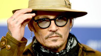 Johnny Depp nu ook actief op Instagram