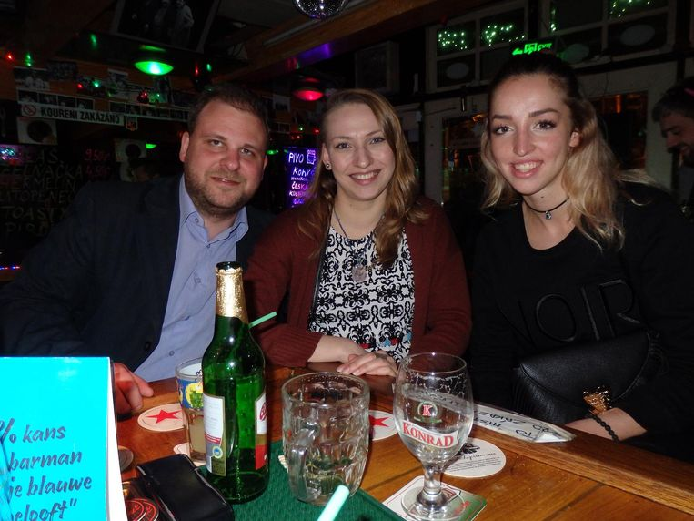 Matous Adamec, Nela Sedlmaierová en Eliška Mundilová: 'Wij werken hier in Amsterdam, dit is mijn tweede thuis' Beeld Schuim