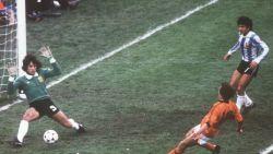 In het collectieve geheugen: de legendarische bal op de paal van Rensenbrink in de WK-finale van '78 tegen Argentinië