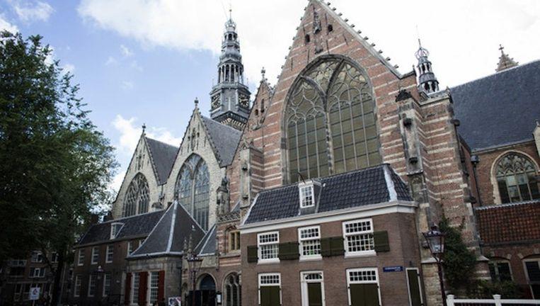 Oude Kerk in het centrum van Amsterdam Beeld Rink Hof